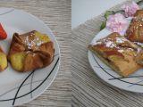 Šátečky s pudinkovou Amaretto náplní (mřížky) recept