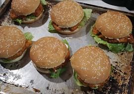 Kuřecí burger recept