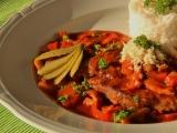 Krkovička s pikantní paprikovou směsí recept