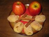 Tvarohové kapsičky s jablky recept