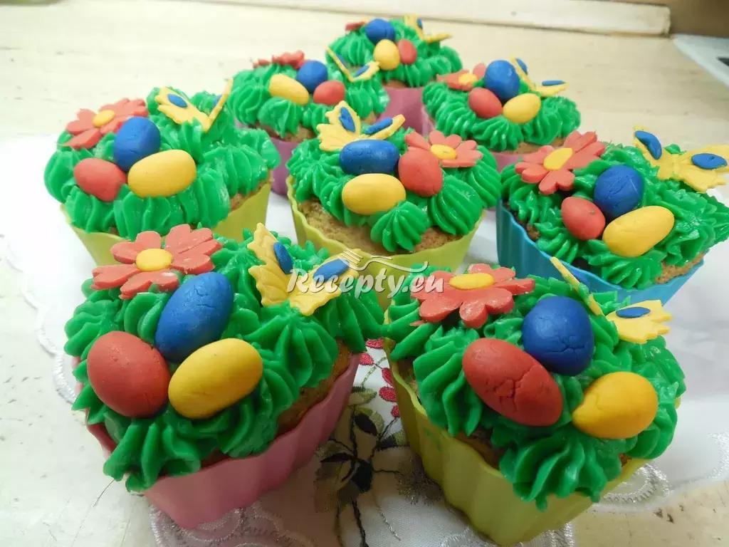 Čokoládové velikonoční muffiny recept  moučníky