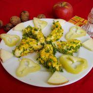 Sýrové rohlíčky s ořechy recept