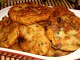 Rohlíkové placičky s houbami recept