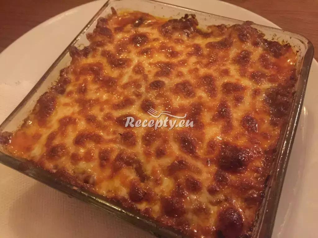 Zeleninové lasagne recept  těstoviny