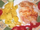 Kuřecí prsíčka v alobalu podle mě recept