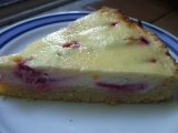 Smetanovo-švestkový koláč recept