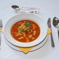 Dršťková polévka z vepřových žaludků se zeleninou recept