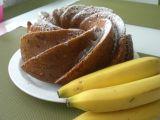 Mramorová bábovka s banánem a jablkem recept