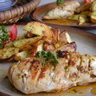 Kuřecí prsa s česnekem a bazalkou recept