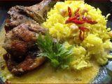 Kuře Arabica s cizrnovou rýží recept