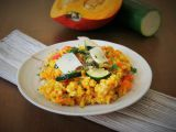 Dýňový bulgur s quinoou recept