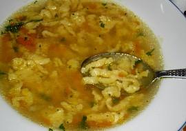 Zavářka do polévky  žížalky vnučky Verunky recept