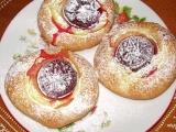 Pudinkovo-švestkové koláče recept