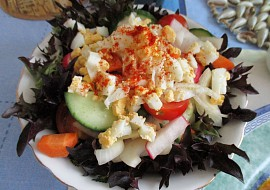 Míchaný salát s rukolou (Arugola) recept