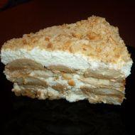 Smetanový dezert s máslovými sušenkami recept