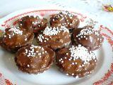 Kakaové košíčky s náplní z bíleho maku recept