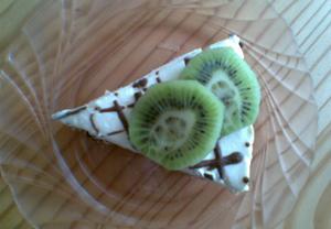 Burisonový dort s tvarohem