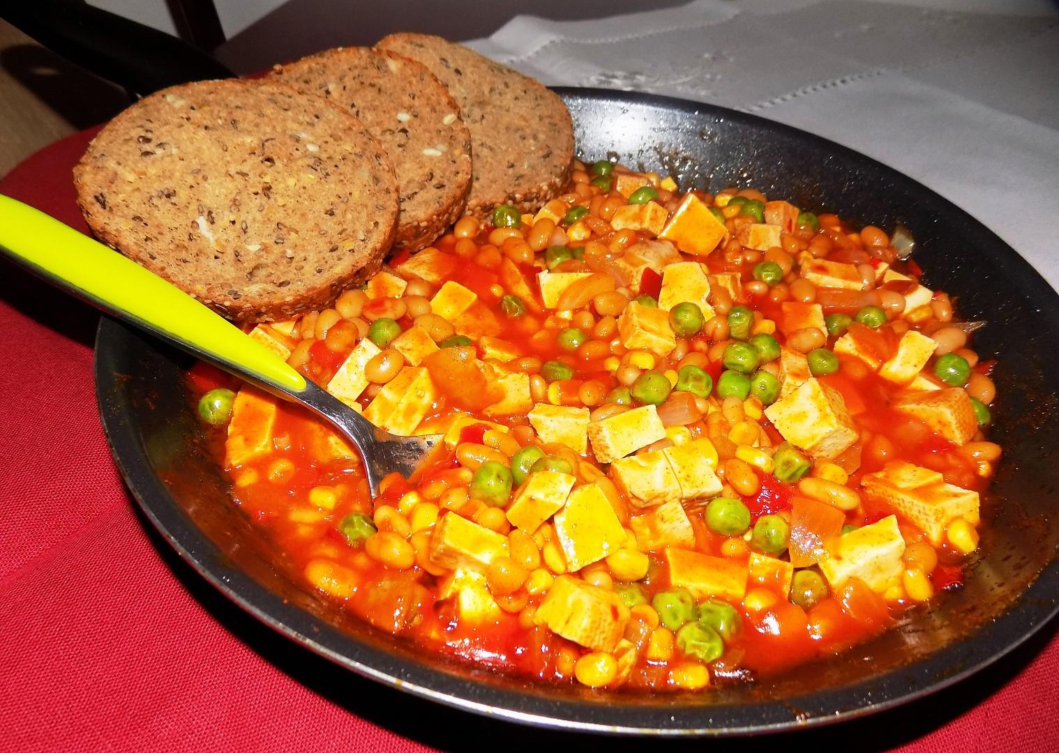 Mexický tofu guláš recept