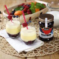 Mléčný koktejl z lesního ovoce recept