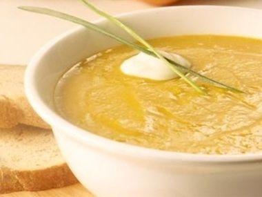 Tykvová polévka s pomerančem