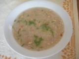 Drožďová polévka s ovesnými vločkami recept