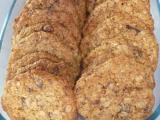 Vločkové zdravé sušenky recept