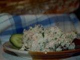 Makrelová pomazánka s křenem recept
