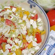 Salát s balkánským sýrem recept