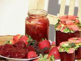 Jahodový džem s granátovým jablkem recept
