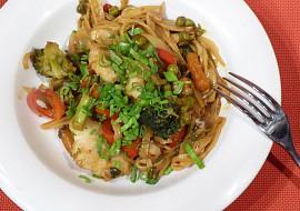 Rybí filé s pikantní zeleninou recept