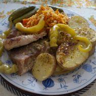 Vepřová pečeně na česneku 1 recept