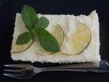 Limetkové krémové řezy recept