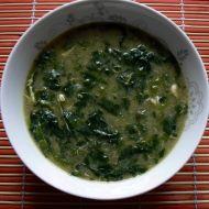 Rychlá špenátová polévka recept