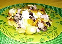 Opečené brambory s houbami shimeji recept