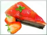 Jahodovo pudinkový dort recept