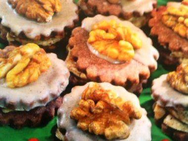 Ořechové dortíky 2