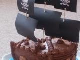 Dort Pirátská loď recept
