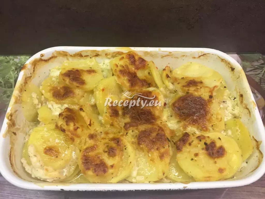 Brambory zapečené s hermelínem recept  bramborové pokrmy ...