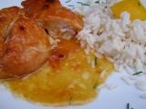 Kuře na meruňkách recept