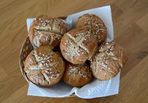 Chlebovky z žitné mouky (pro alergiky  bez pšenice, vajec, mléka ...