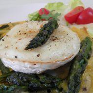 Omeleta s chřestem a sýrem recept