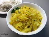 Zelí po indicku recept
