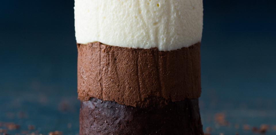Tříčokoládové dortíky