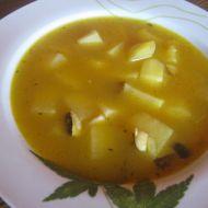 Vegetariánská houbová bramboračka recept