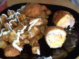 Plněné kuřecí řízky se šunkou a sýrem recept