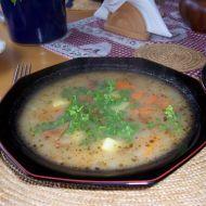 Bramborová polévka s čerstvými ryzci recept