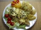 Kuřecí prsa na másle pod celerovou peřinkou recept