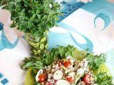 Pohankový salát se zeleninou a oregánem recept