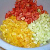Zeleninový salát s vejci recept