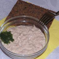 Tuňáková svačinka recept